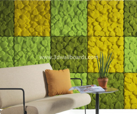 3D Wall Boards from China – 3D Wall Boards, polyester fiber acoustic ...