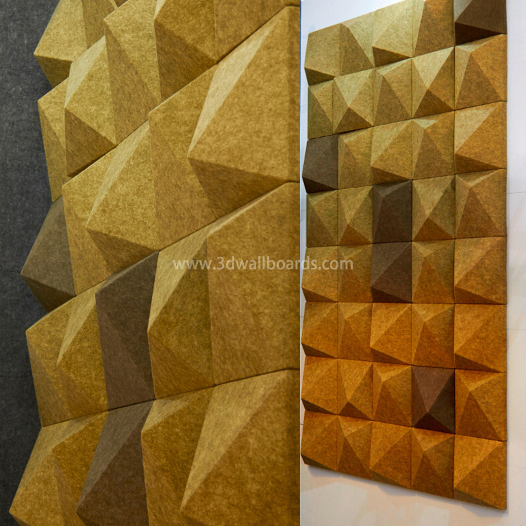 3D Wall Decor Panels 300 x 300 x 85 mm – 3D Wall Boards from China