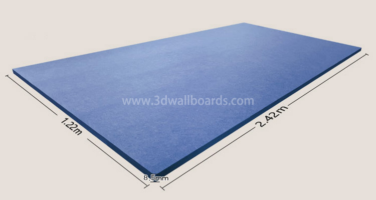 Polyester Acoustic Panels Size